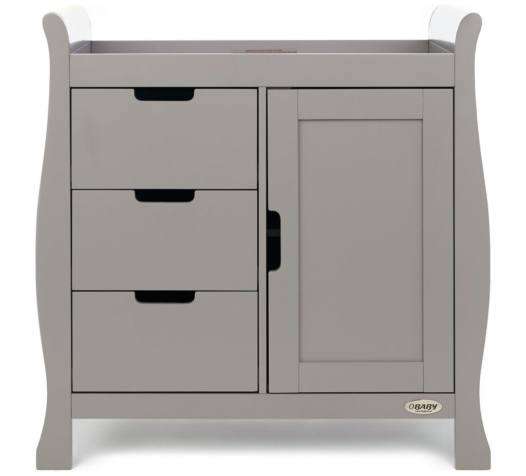 Stamford Grey Changing Unit - The Simply Small Company