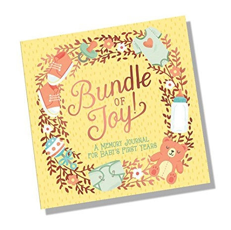 Bundle of Joy Baby's First Year Journal - The Simply Small Company