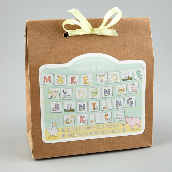 Make Your Own personalised Bunting Kit (Farmyard Animals)