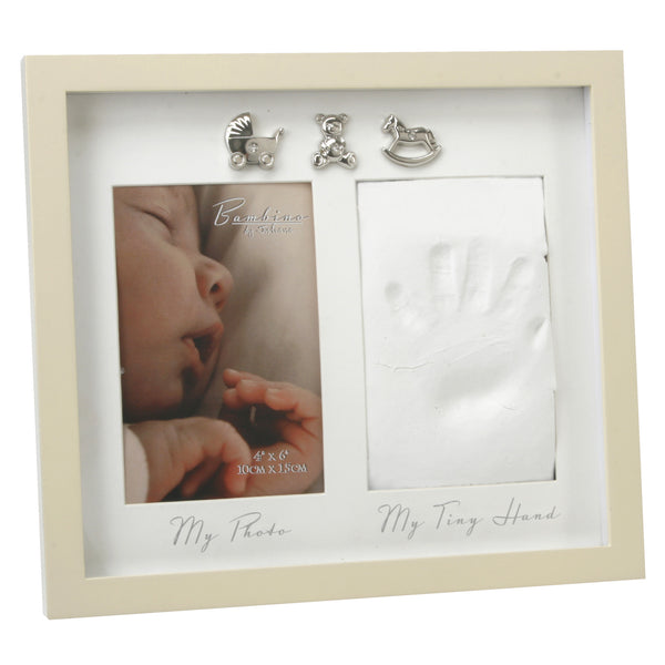 New Baby Hand Print Memento Photo Frame - The Simply Small Company