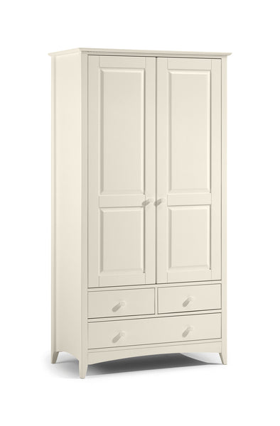 Cameo Combination Wardrobe: Stone White