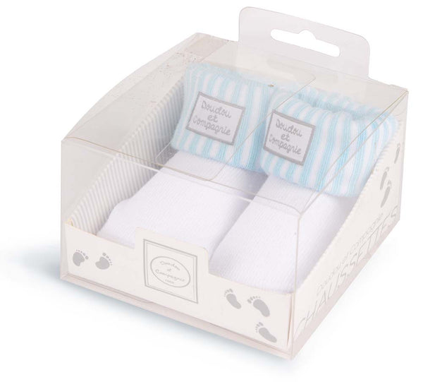 Doudou et Compagnie Baby Boy's Socks in Gift Box