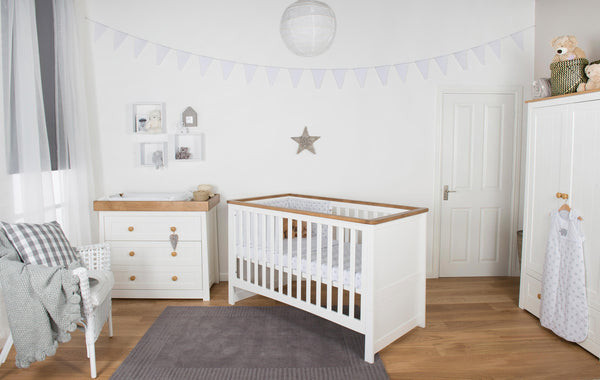 Little House Nursery Furniture: Littledale Three Piece Nursery Room Set with FREE Mattress & Delivery - The Simply Small Company