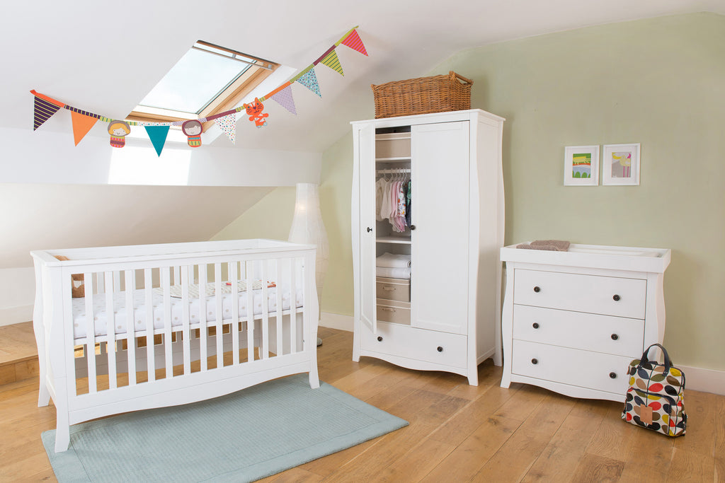Little House Nursery Furniture: Brampton Three Piece Nursery Set with FREE Mattress & Delivery - The Simply Small Company