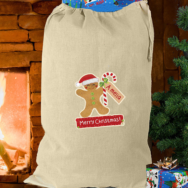 Personalised Christmas Present Sack - The Simply Small Company