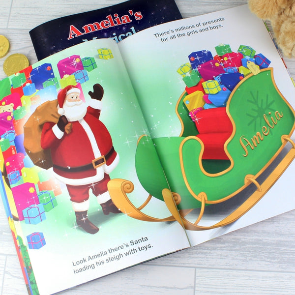 Personalised Christmas Story Book - The Simply Small Company