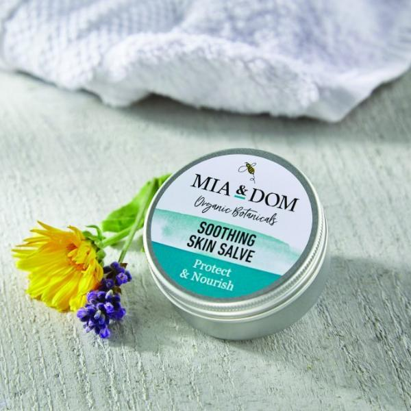 Mia & Dom Organic Skincare: Soothing Skin Salve - The Simply Small Company