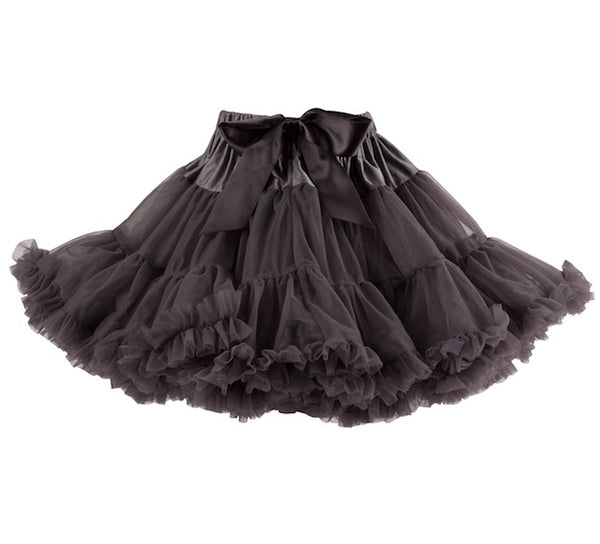Bob & Blossom Charcoal Tutu/Party Skirt with FREE Gift Box