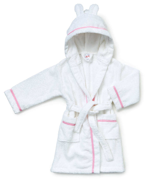 Personalised Baby & Toddler Bathrobe/Dressing Gown (Pink)