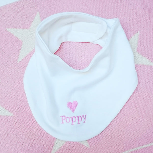 Personalised Bandana Dribble Bib - The Simply Small Company