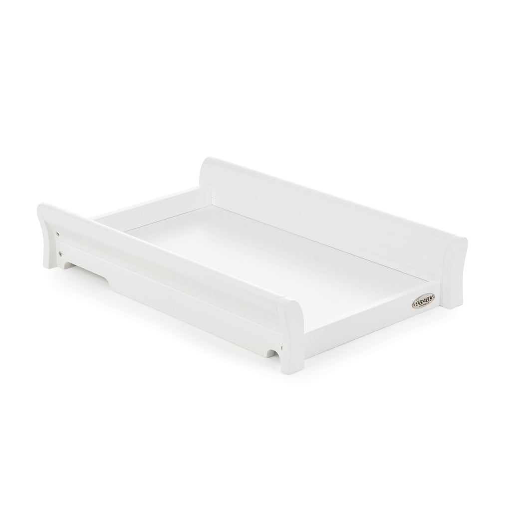 OBaby Stamford Cot Top Changer  AVAILABLE IN WHITE OR GREY