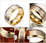 LGBT Titanium Fashion Ring-Independence Sale