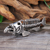 Fish Skeleton Pendant
