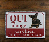 Lovely puppy! vintage metal signs retro tin plate t-Limited Edition
