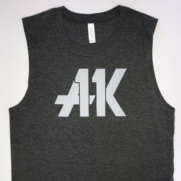 AK11 Dark Gray Muscle Tank