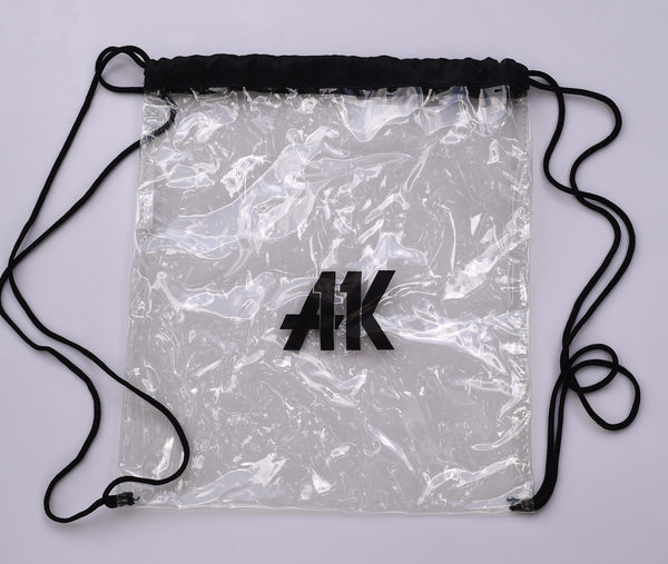 AK11 Clear Drawstring Bag