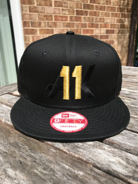 AK11 GOLD 100 CAPS LIMITED EDITION SNAPBACK