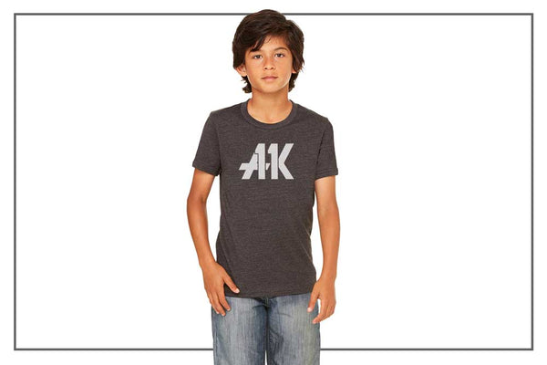 AK11 Dark Gray Kids Tee