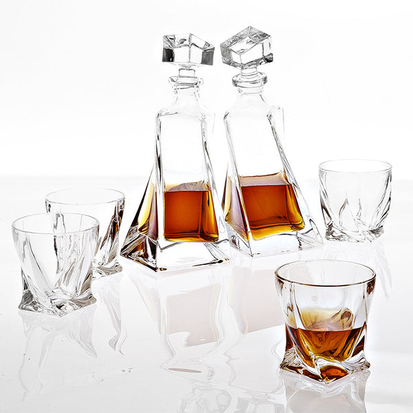 Decanter Sapphire - set of 6