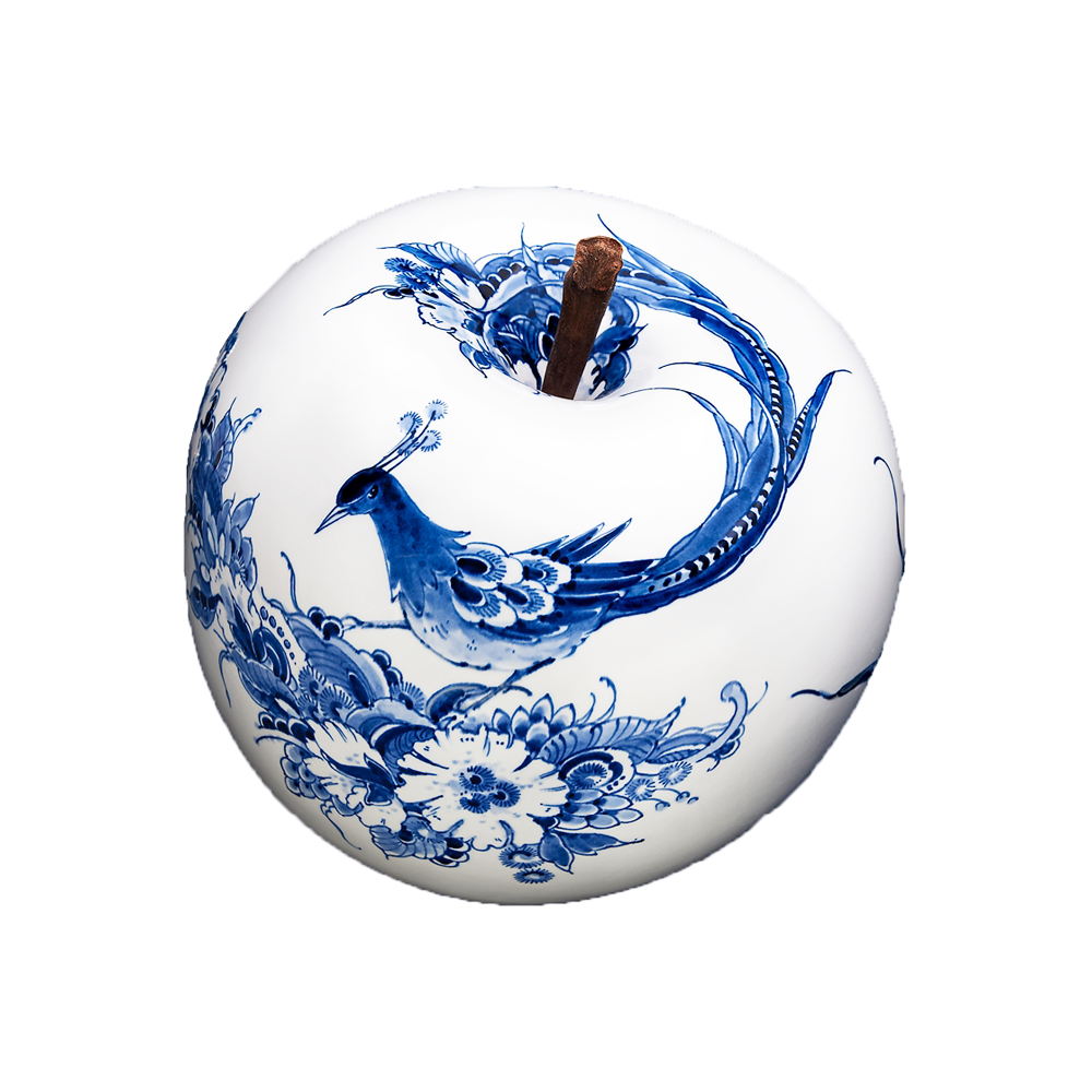 Royal Delft Hand-painted Ceramic Apple - ø 35 cm