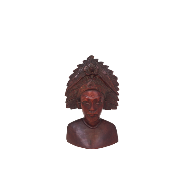Wooden Indian Head
