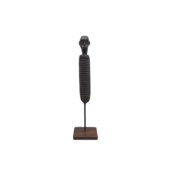 African Wooden Carving on Stand