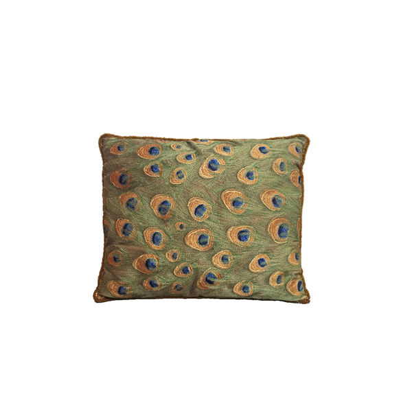 Antique Silk Cushion