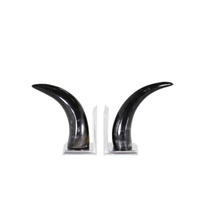 Bookend Horn - Set of 2