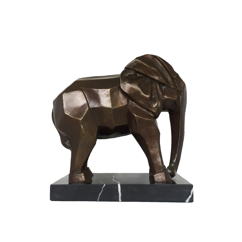 bronze art deco elephant tertius objets d art. Black Bedroom Furniture Sets. Home Design Ideas