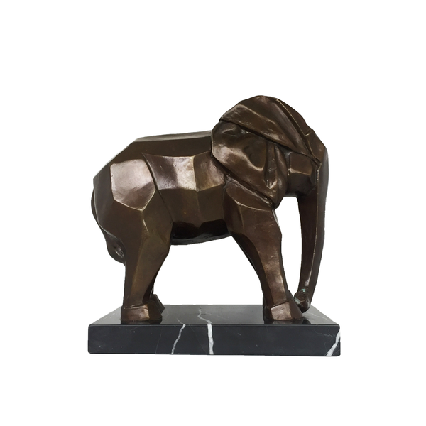 Bronze Art Deco Elephant