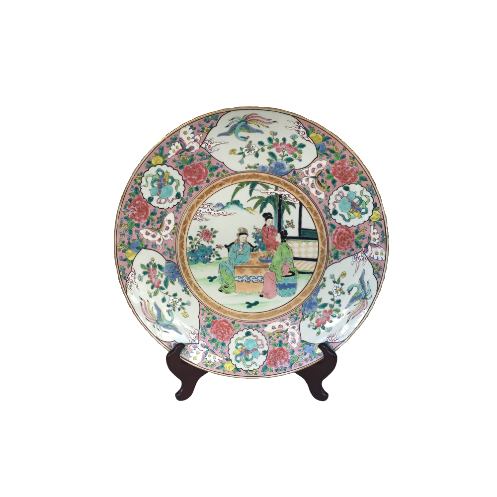 Big Chinese Porcelain Plate
