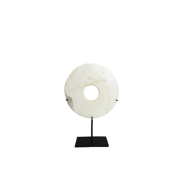 Round Coin on Metal Stand