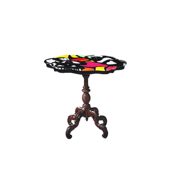 Multicolor Side Table