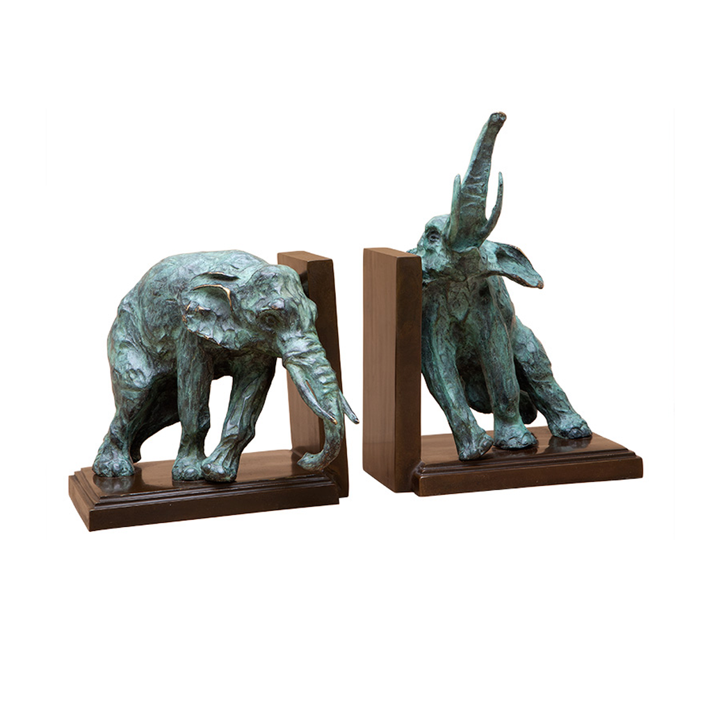 Lazy Elephant Bookend - Set of 2