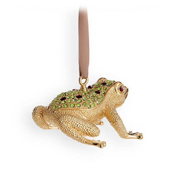 Frog Ornament - Gold