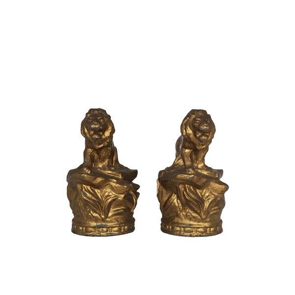 Golden Lions - Set of 2