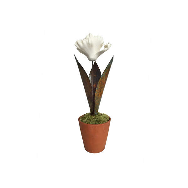 Large Porcelain Tulip