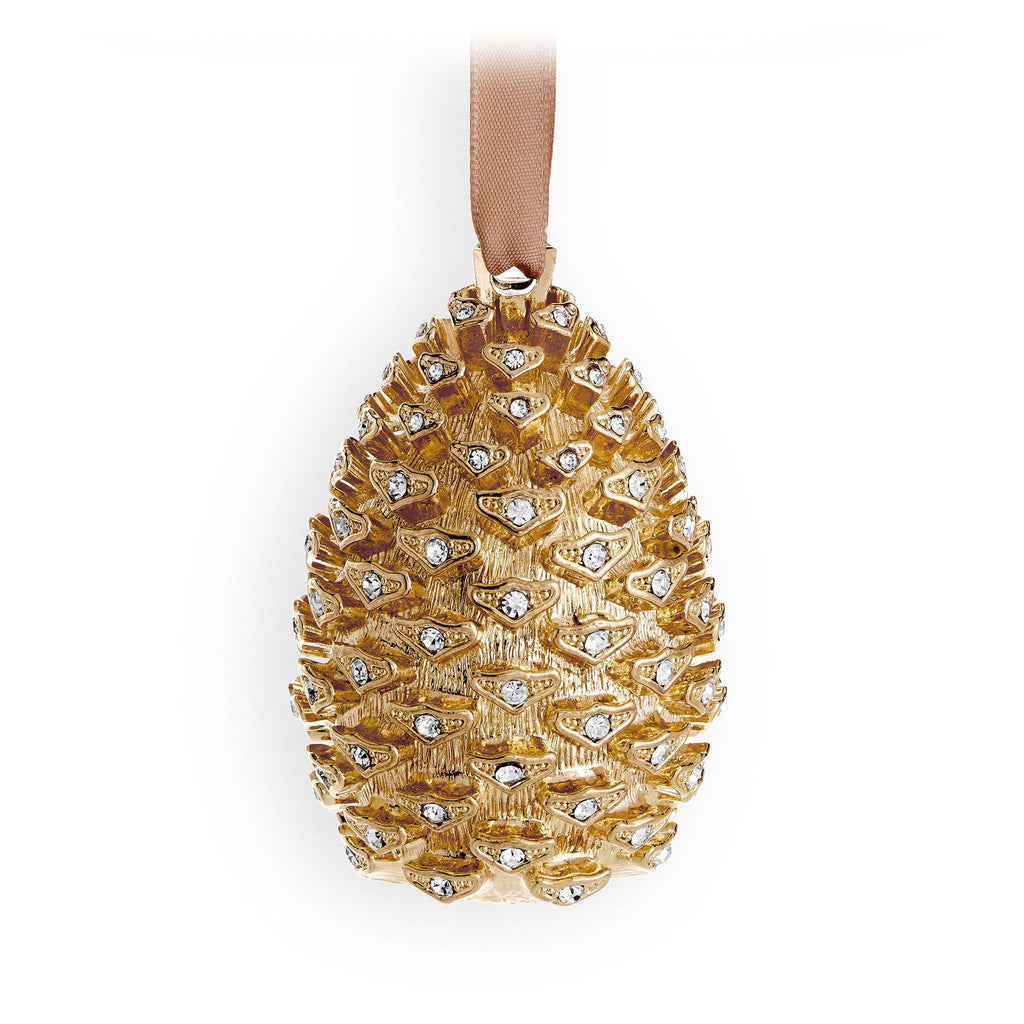 Pinecone Ornament - Gold