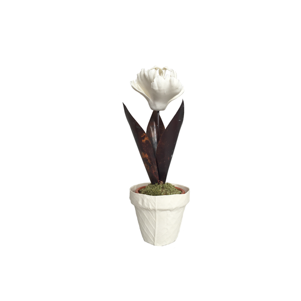 Small Porcelain Tulip
