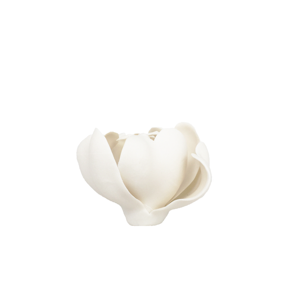 Small White Porcelain Tulip