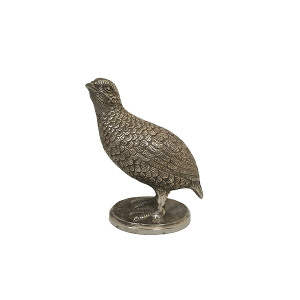 Silver Plated Bird