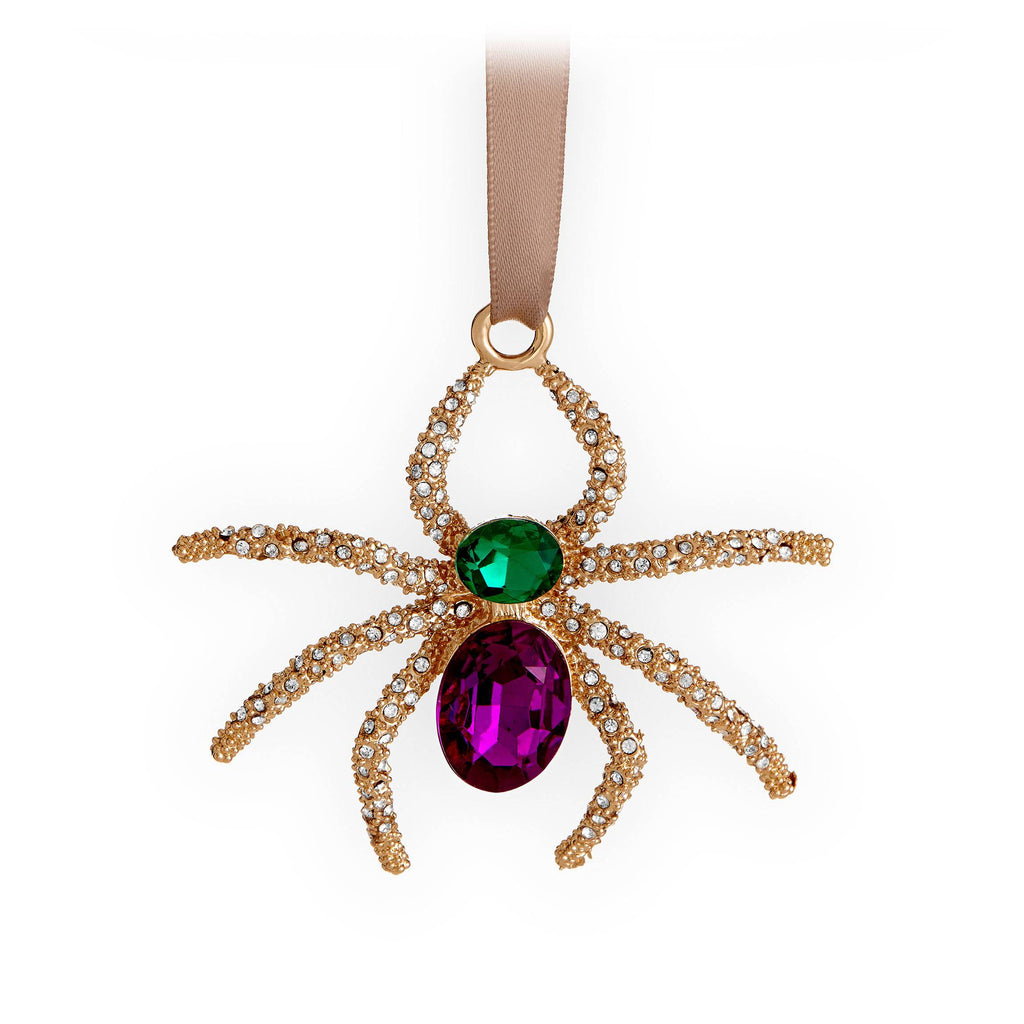 Spider Ornament - Gold