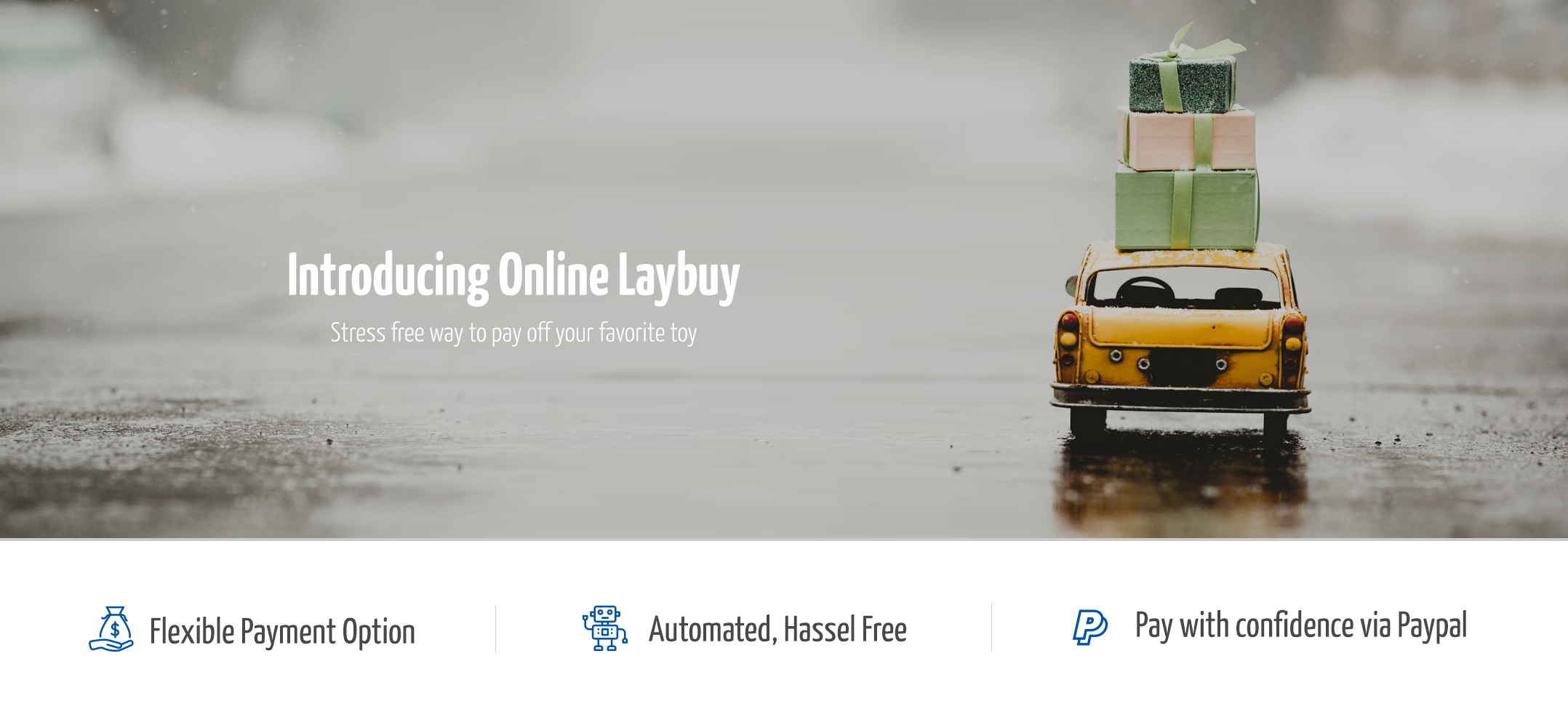 Introducing Online Layby