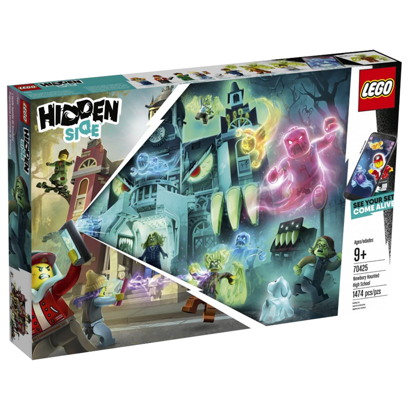 LEGO® 70425 Hidden Side™ Newbury Haunted High School - My Hobbies