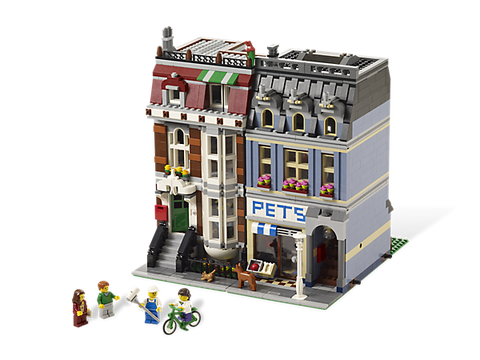 LEGO 10218  Creator Expert Pet Shop - Modular Building