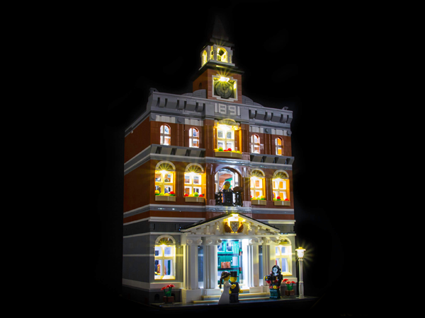 LEGO Town Hall 10224 Light Kit (LEGO Set Are Not Included ) - My Hobbies