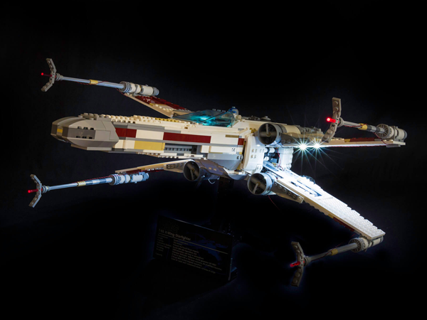 LEGO Star Wars UCS Red Five X-wing Starfighter 10240 Light Kit (LEGO Set Are Not Included ) - My Hobbies
