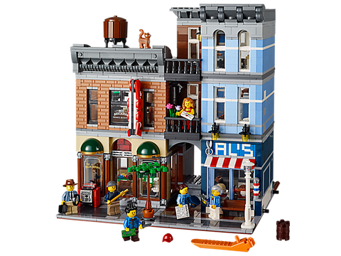 LEGO 10246 Creator Expert Detective's Office - Modular building (Box Damaged)