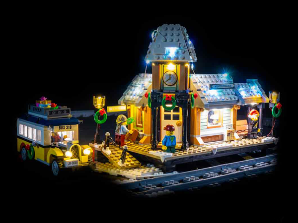 LEGO Winter Village Station 10259 Light Kit (LEGO Set Are Not Included ) - My Hobbies