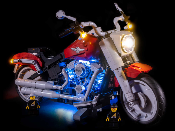LEGO Harley-Davidson® Fat Boy® 10269 Light Kit (LEGO Set Are Not Included ) - My Hobbies